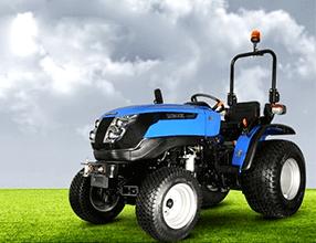 Traktor Solis 26 - kompaktni Solis traktor - družba Sonalika