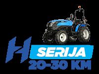 Solis - traktorji serije H z močjo od 20 do 30 KM - najboljši kompaktni traktor