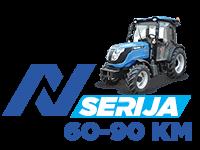 Solis - traktorji serije N z močjo od 60 do 90 KM - sadjarsko vinogradniški traktor
