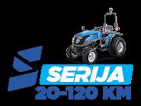 Solis - traktorji serije S z močjo od 20 do 120 KM - kmetijski traktor